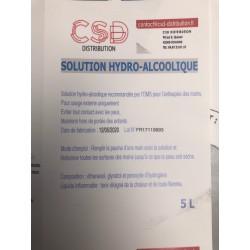 Solution hydro-alcoolique...