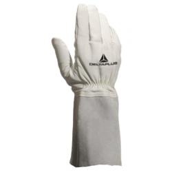 Paire de gants soudeurs et...