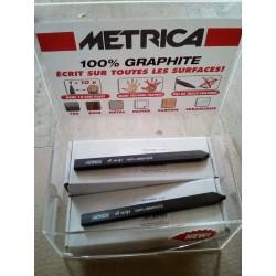 Crayons graphite METRICA